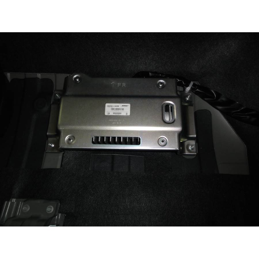 2016 Nissan Quest Factory amplifier