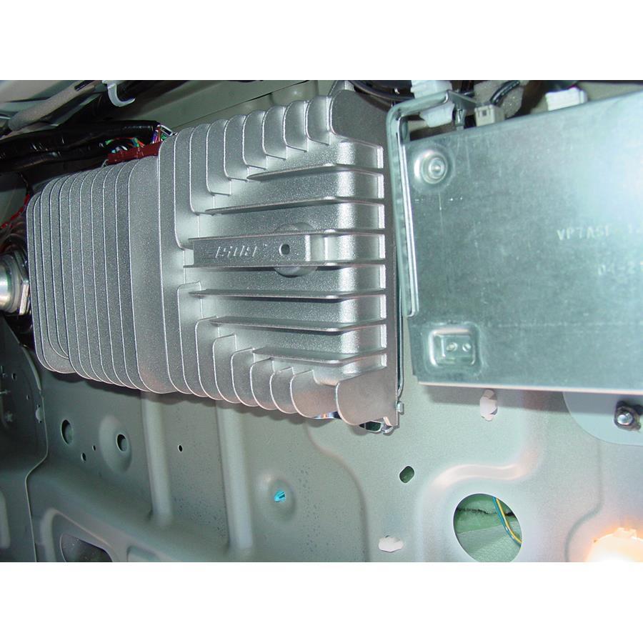 2010 Nissan Maxima Factory amplifier