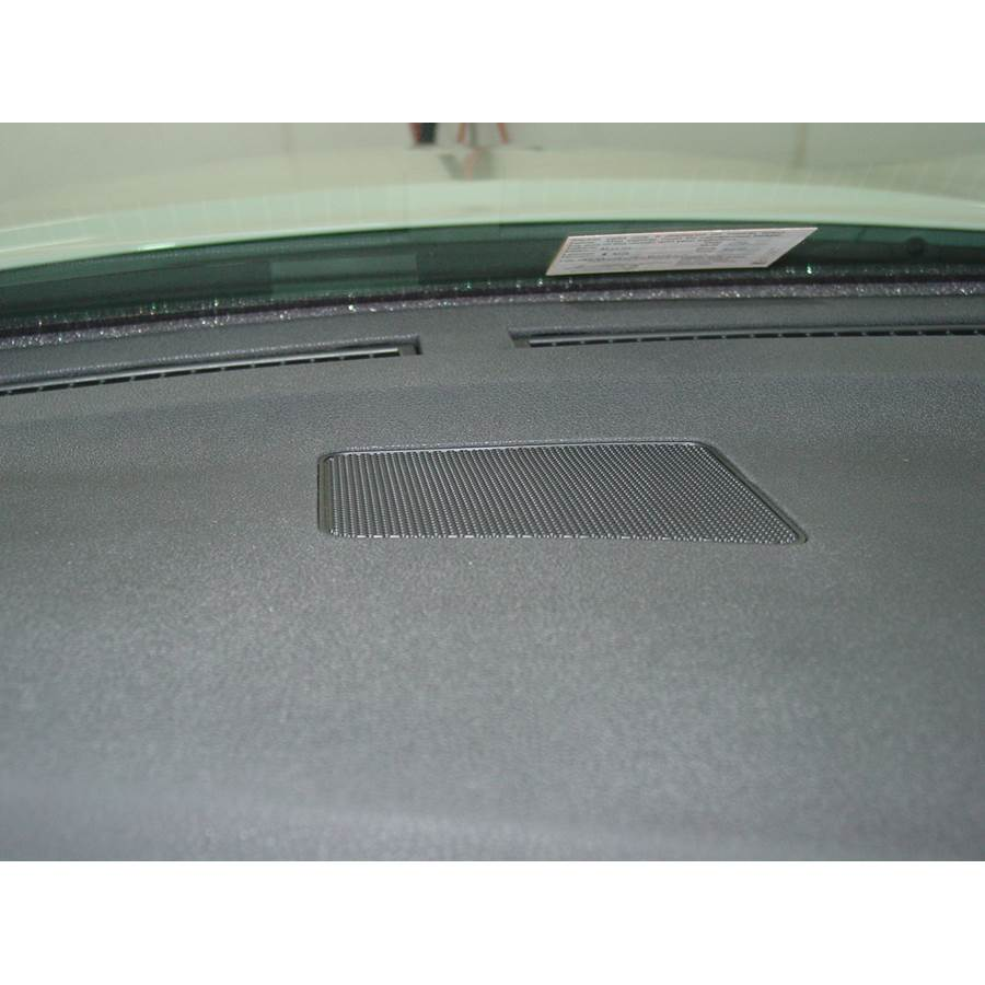 2010 Nissan Maxima Center dash speaker location