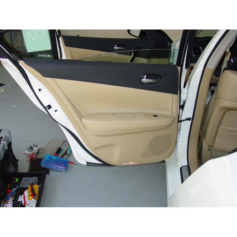 2010 Nissan Maxima Rear door speaker location