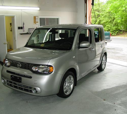 2011 Nissan Cube Exterior