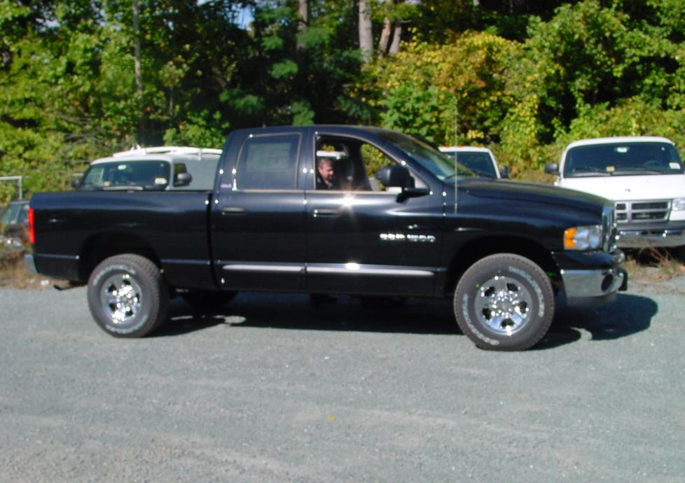 exterior 2002 2005 dodge ram 1500 quad cab car audio profile  at crackthecode.co