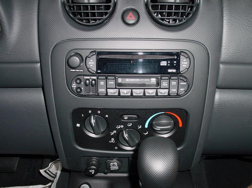 Jeep Liberty factory radio