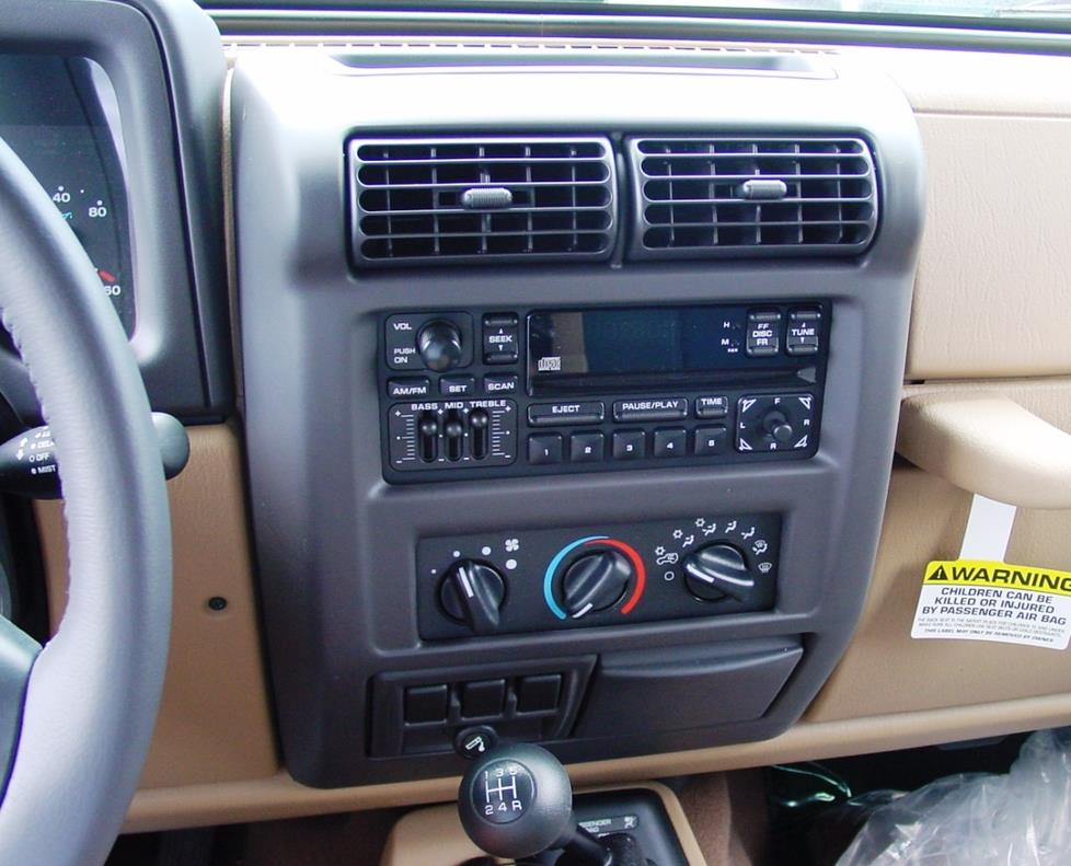 1997 2002 jeep wrangler car audio profile. Black Bedroom Furniture Sets. Home Design Ideas