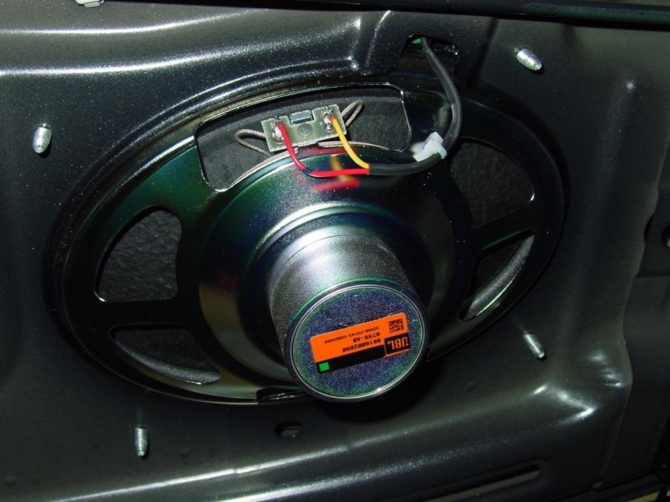Toyota Corolla rear deck speakers