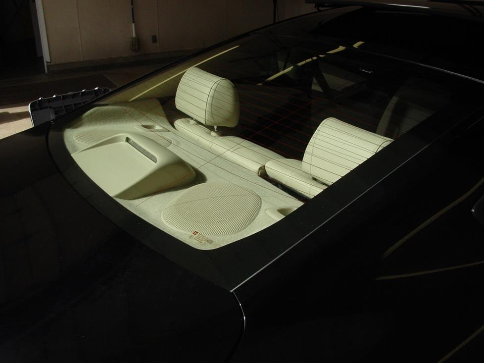 Pontiac G6 coupe rear deck