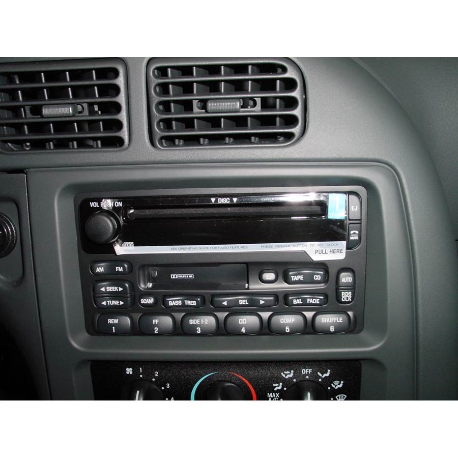 2002 Mercury Villager Factory Radio