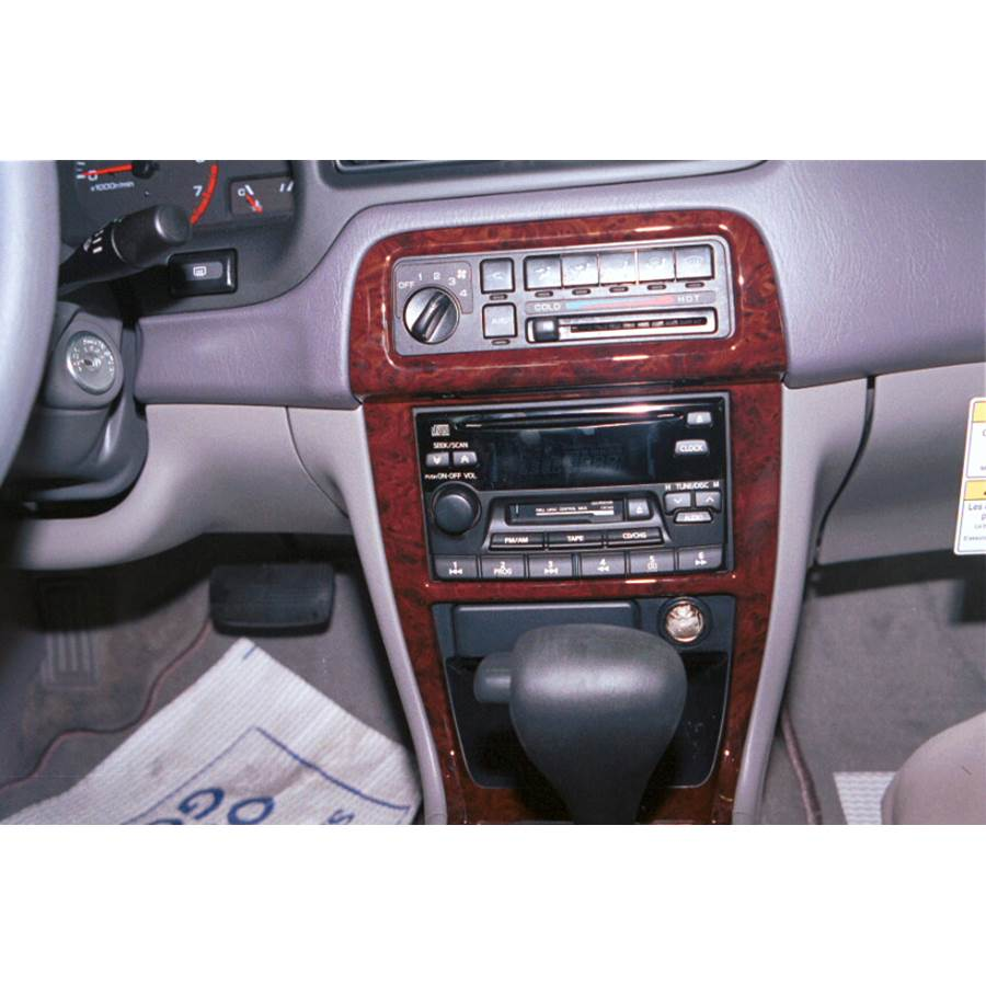 1998 Nissan Altima Other factory radio option