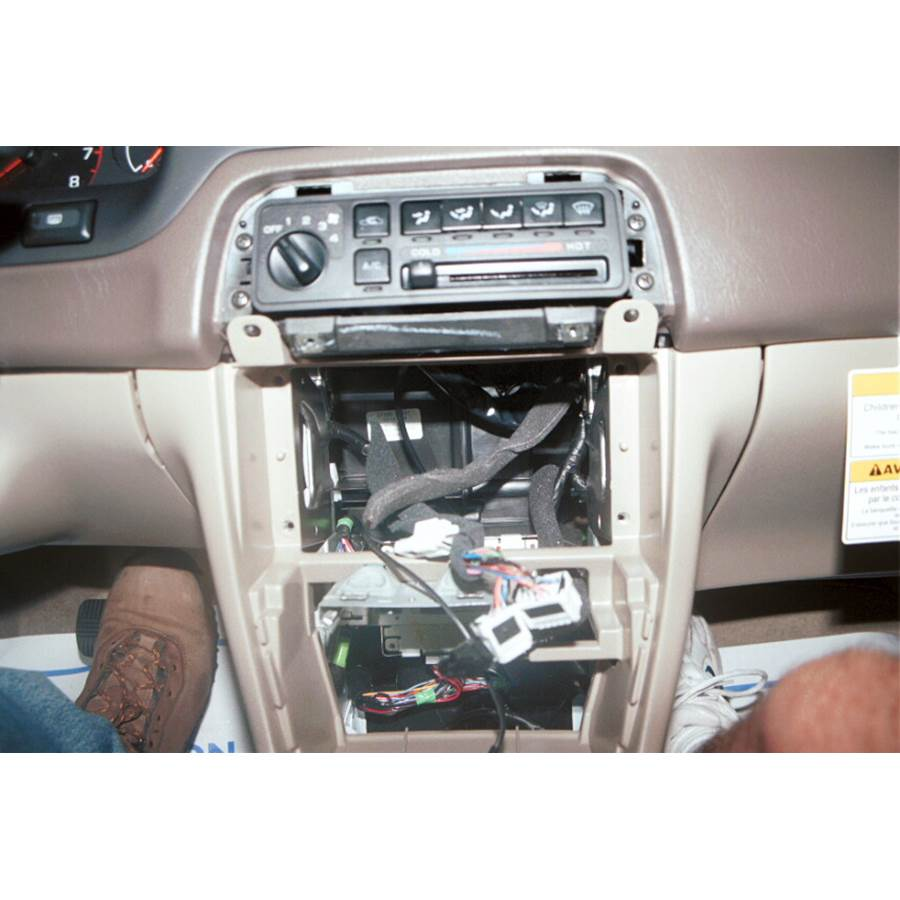 1998 Nissan Altima Factory radio removed