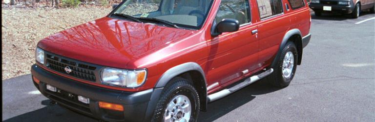 1996 nissan pathfinder exterior 1996 nissan pathfinder exterior