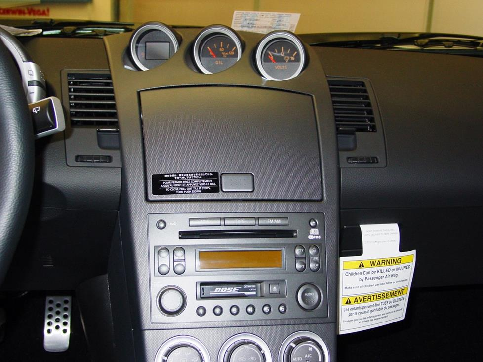 radio 2003 2005 nissan 350z car audio profile 2003 nissan 350z bose wiring diagram at readyjetset.co