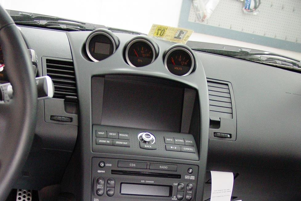 The navigation system found in the 350Z