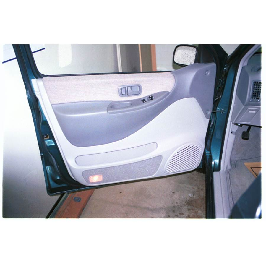 1997 Nissan Quest Front door speaker location