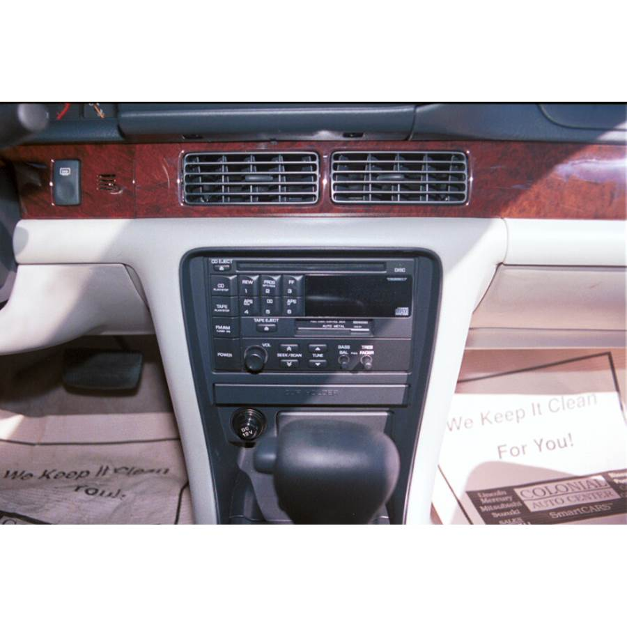 1993 Nissan Altima Other factory radio option