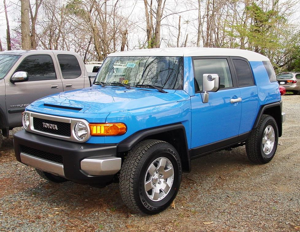 2007-2014 Toyota FJ Cruiser Car Audio Profile on