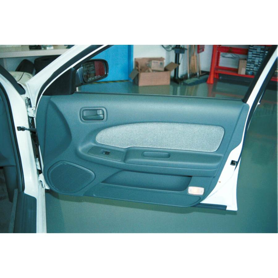 1997 Nissan Maxima Front door speaker location