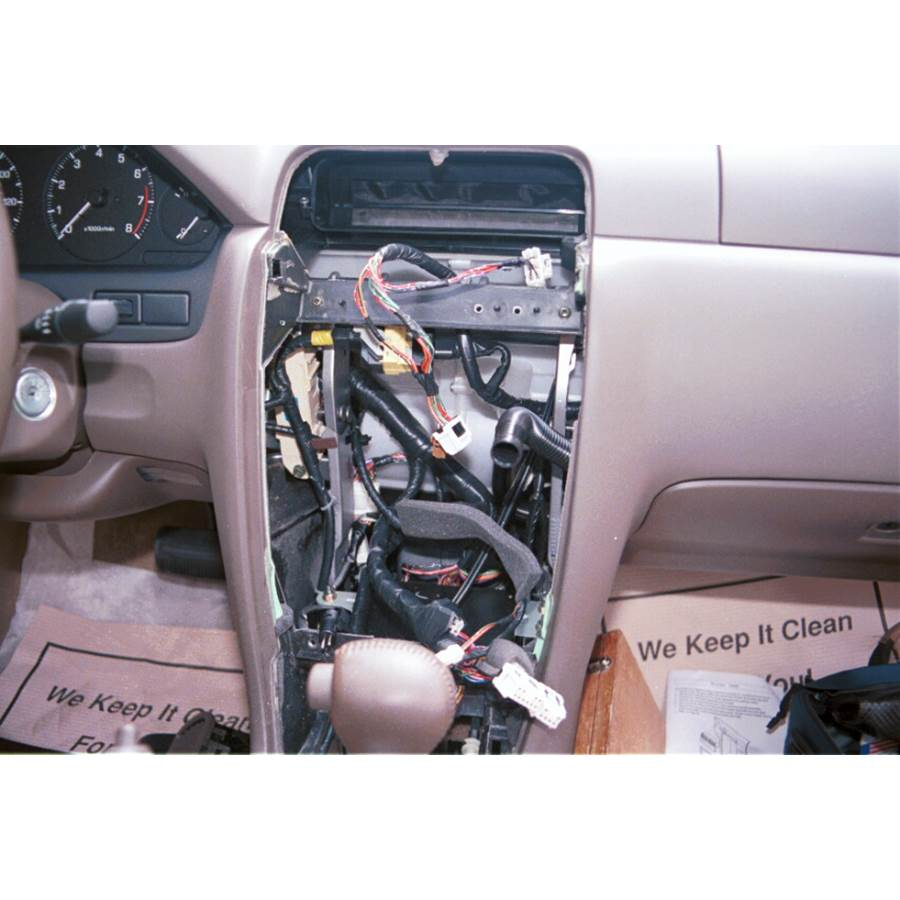 1997 Nissan Maxima Factory radio removed