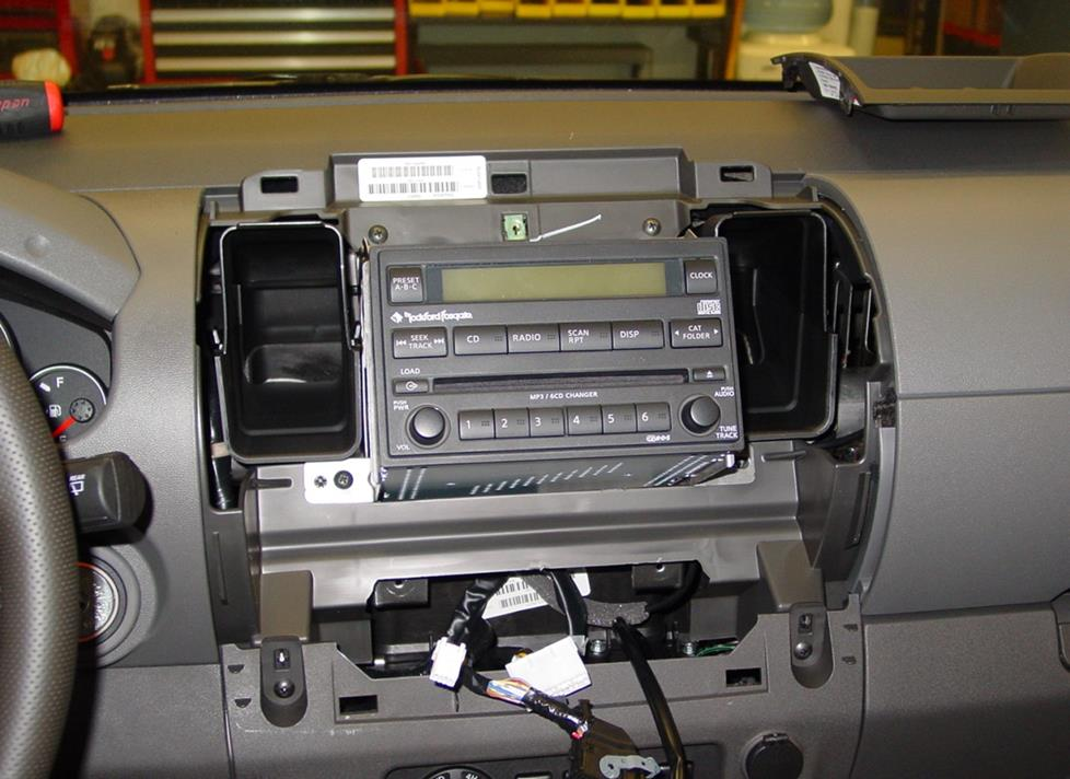 radiocavity 2005 2012 nissan xterra car audio profile 2006 nissan frontier stereo wiring diagram at bayanpartner.co