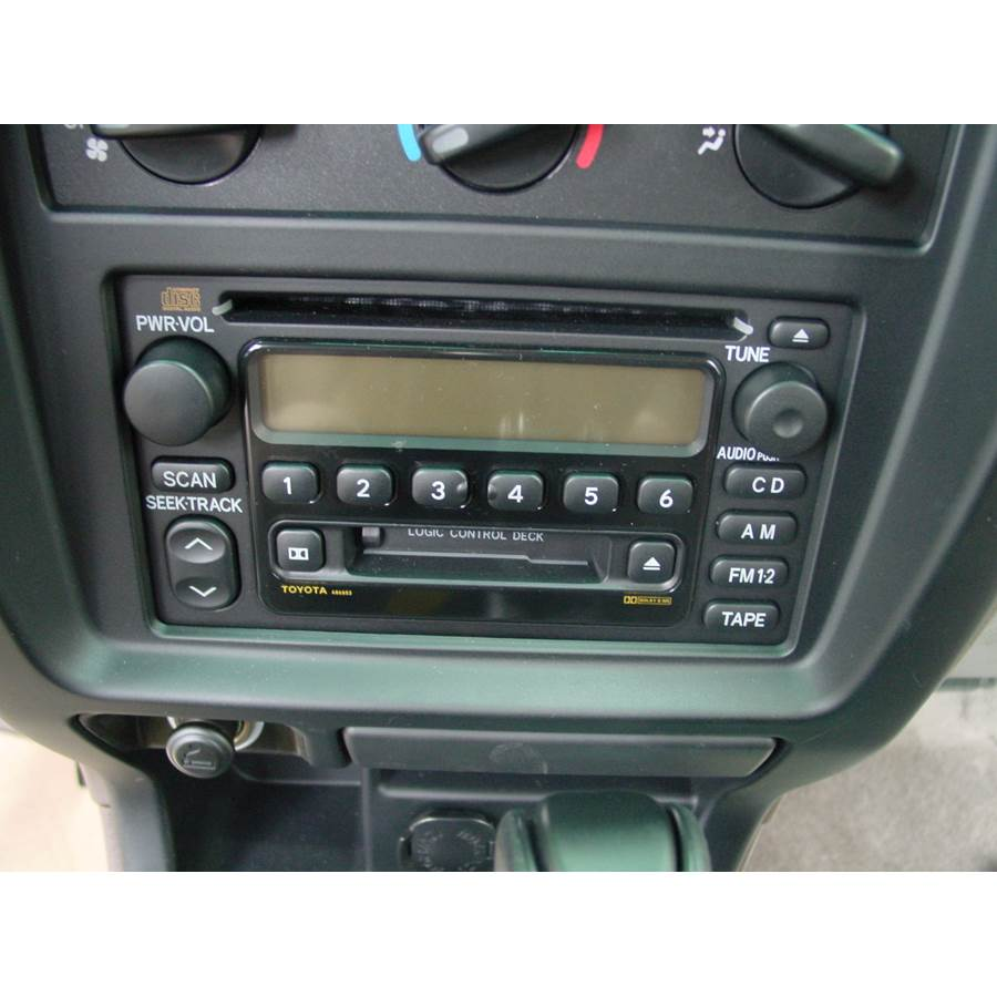 2001 Toyota 4Runner Factory Radio