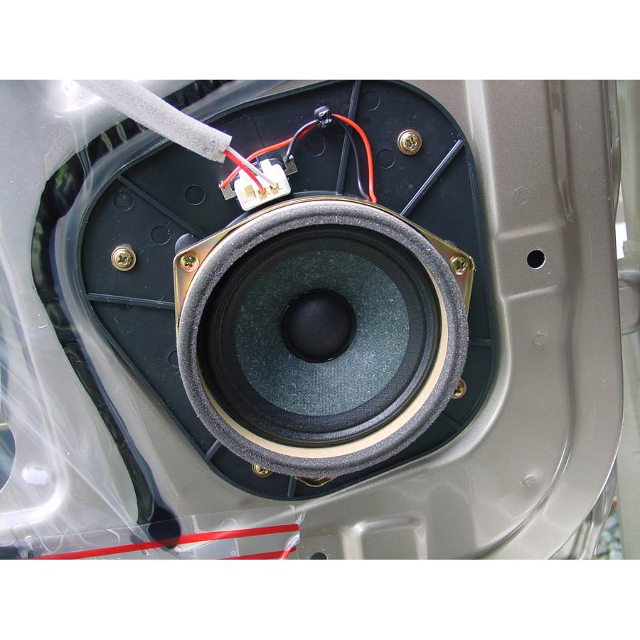 2001 Toyota 4Runner Rear door speaker