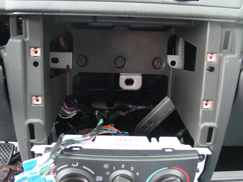 Chevy Cobalt Radio Cavity
