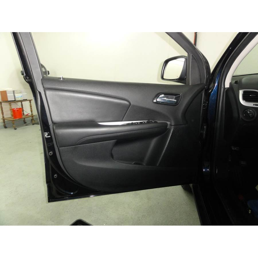 2012 Dodge Journey Front door speaker location