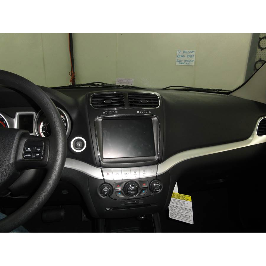 2012 Dodge Journey Other factory radio option