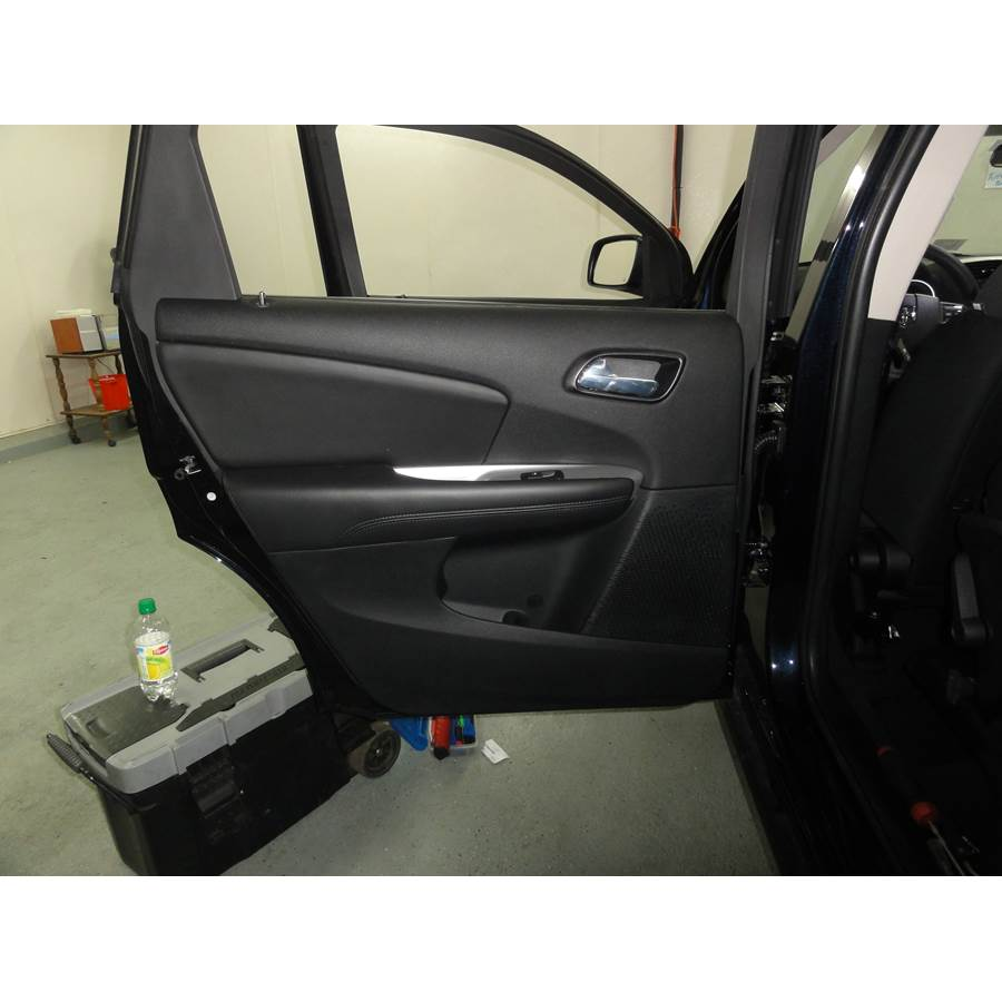 2012 Dodge Journey Rear door speaker location