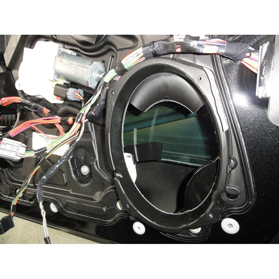2014 Dodge Avenger Front speaker removed
