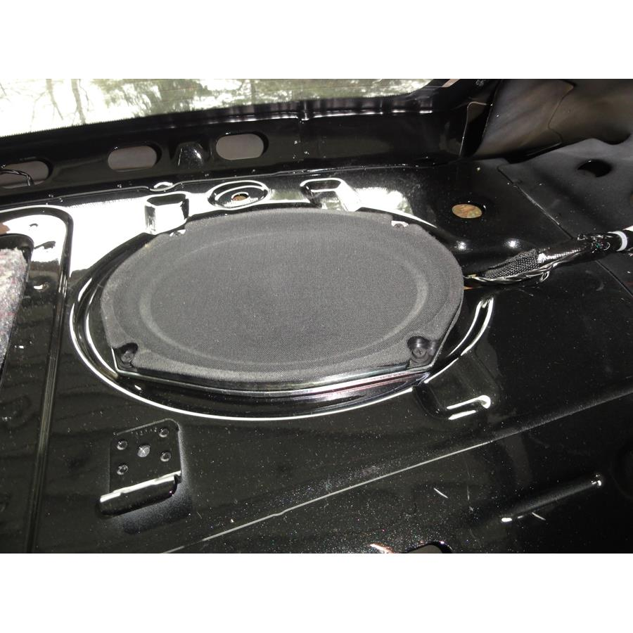 2014 Dodge Avenger Rear deck speaker
