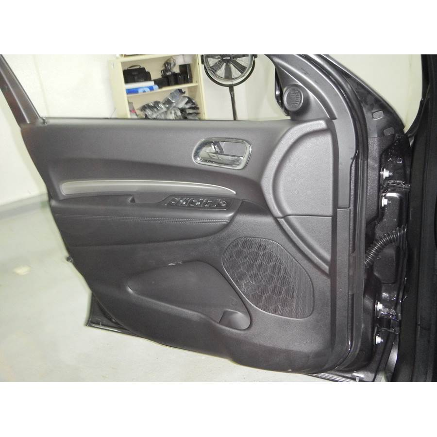 2011 Dodge Durango Front door speaker location