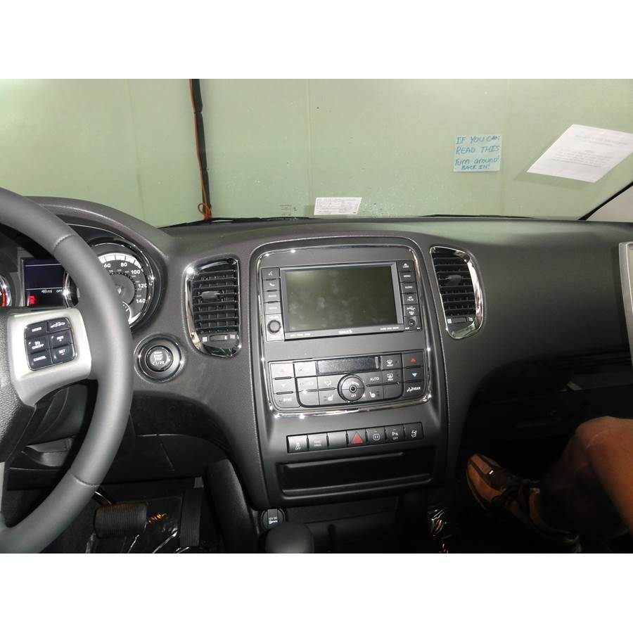 2011 Dodge Durango Factory Radio