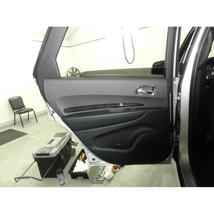 2011 Dodge Durango Rear door speaker location