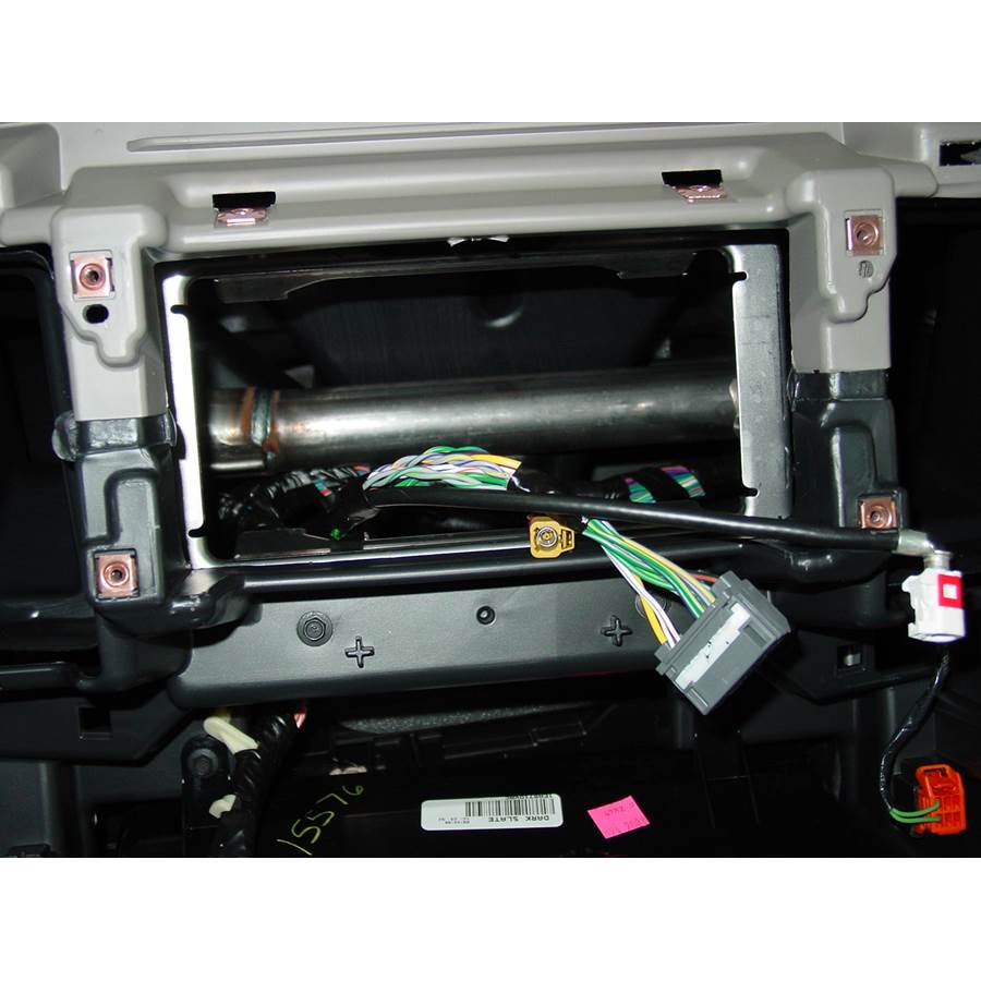 2011 Dodge Truck 3500 Factory radio removed
