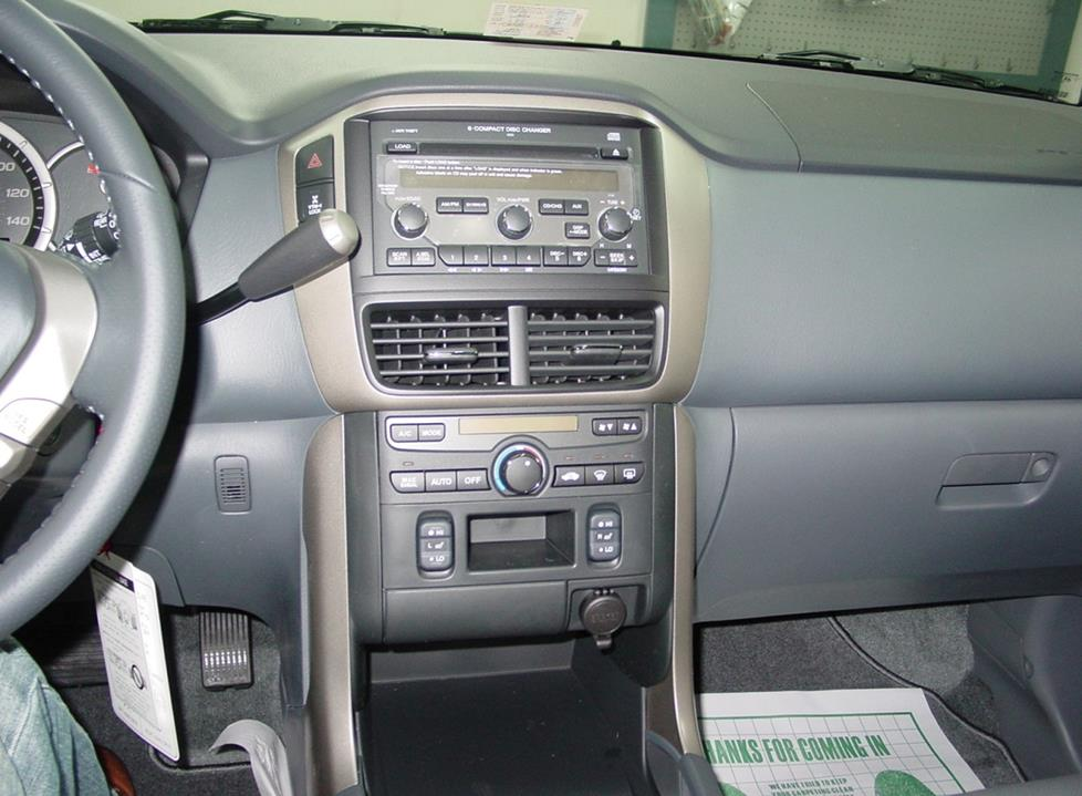 2006 Up Honda Pilot Radio Without Navigation