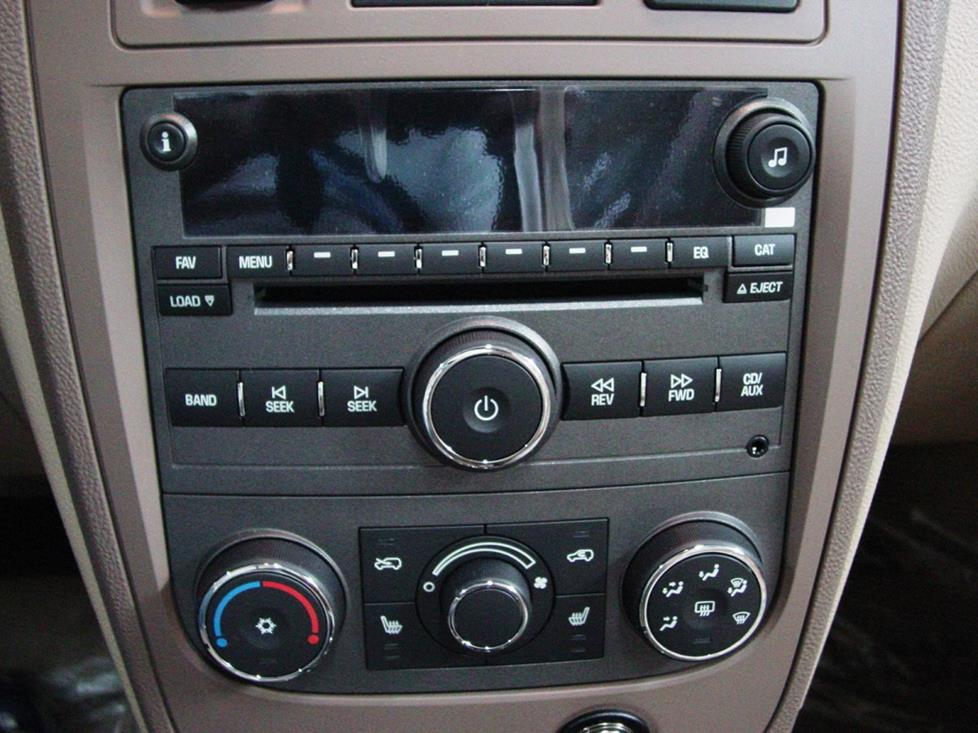 2006 2011 chevrolet hhr car audio profile chevy hhr factory radio