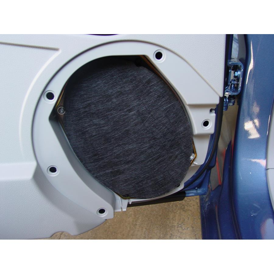 2008 Jeep Patriot Rear door speaker