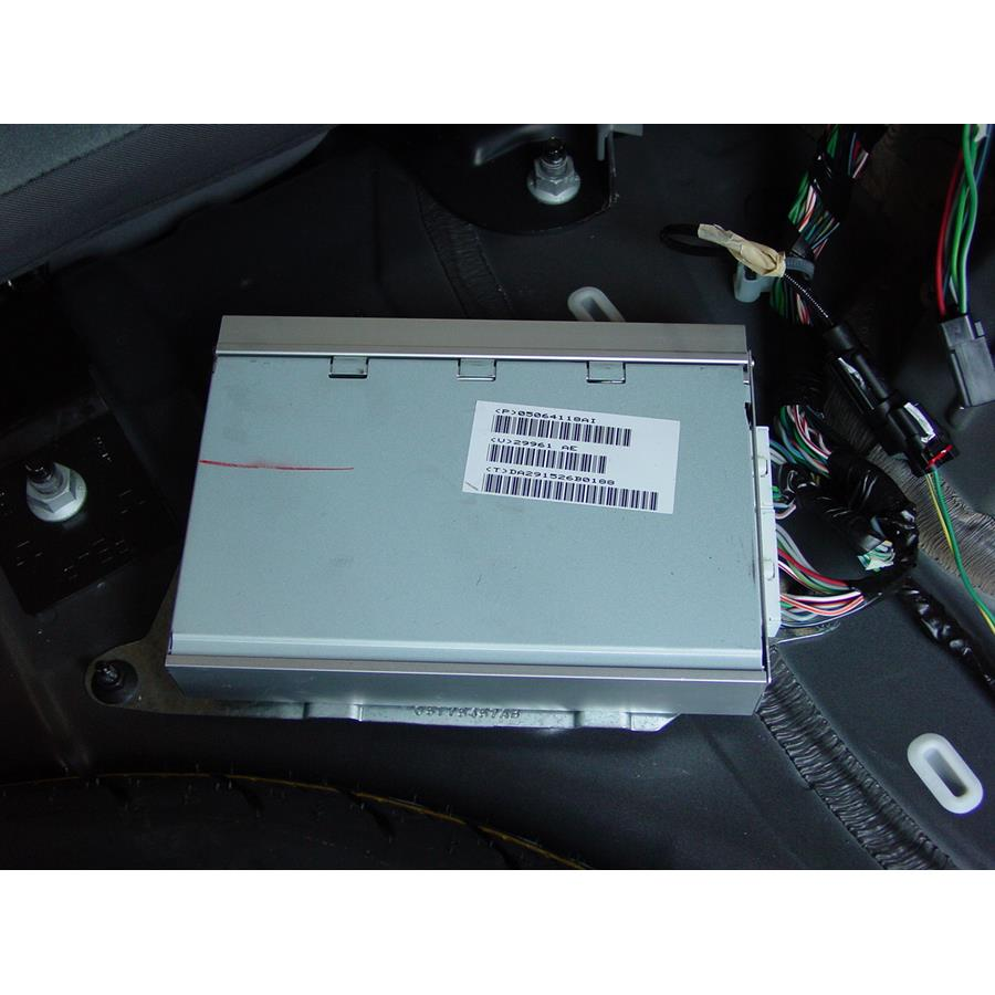 2008 Jeep Patriot Factory amplifier