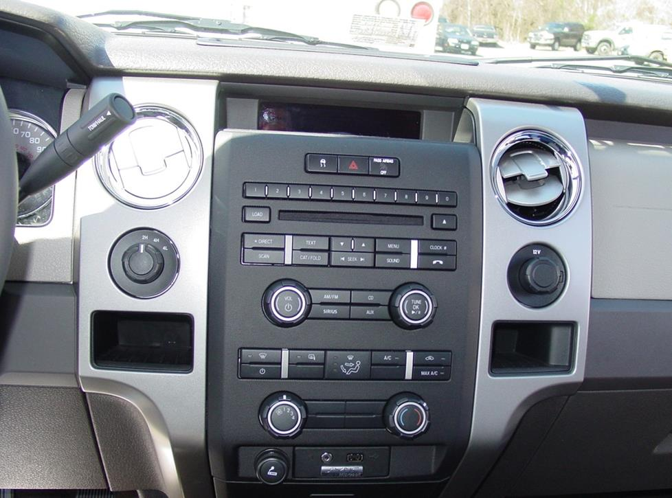 ford f-150 supercrew radio