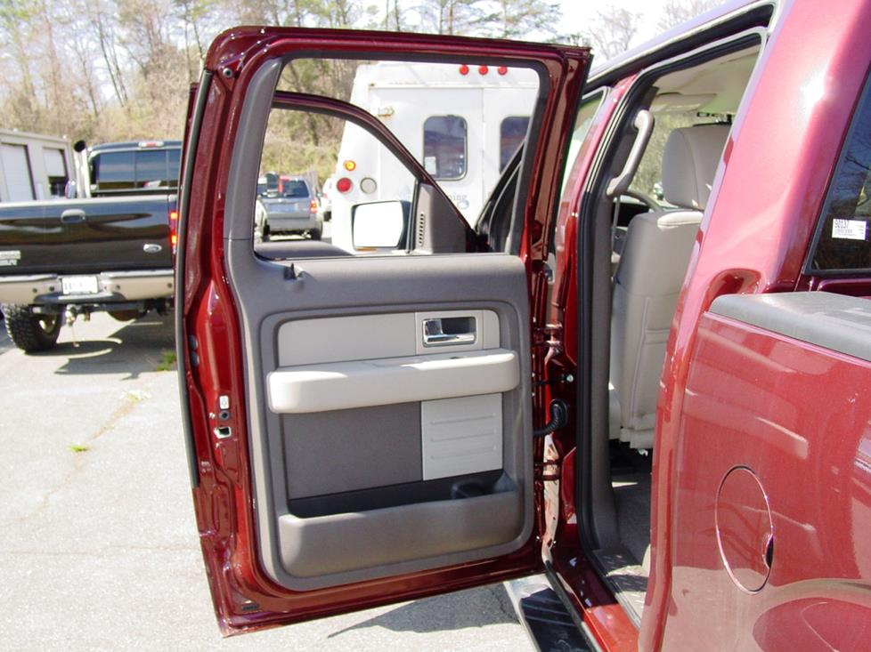 ford f-150 supercrew front door