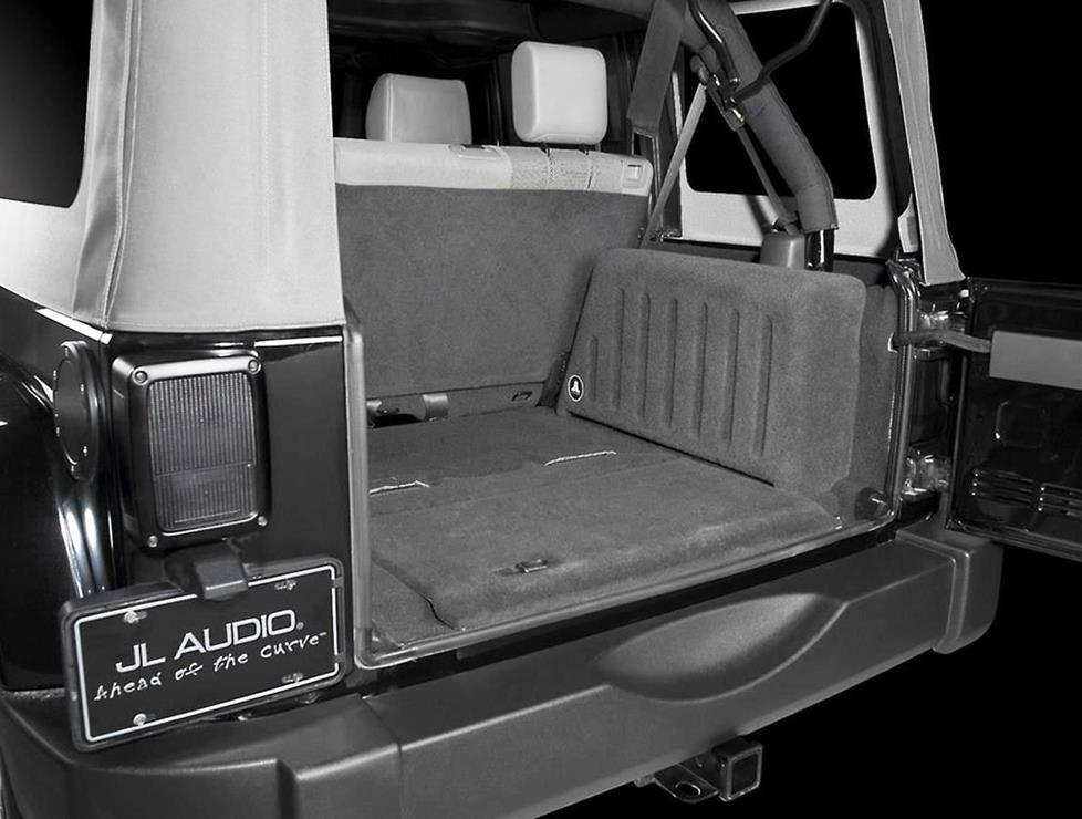 Custom-fit JL Audio subwoofer