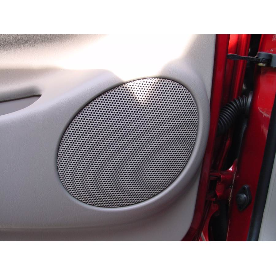 2001 Toyota Tacoma Front door speaker location