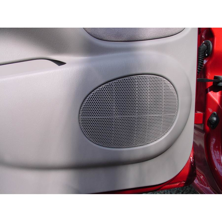 2001 Toyota Tacoma Rear door speaker location