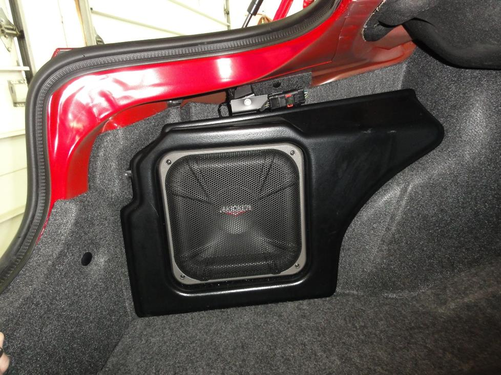 dodge charger Kicker subwoofer package