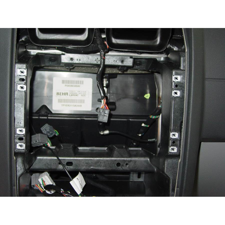 2006 Dodge Magnum Factory radio removed