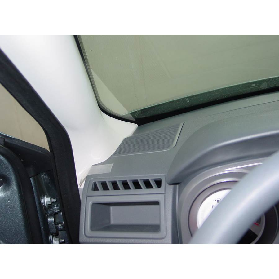 2009 Dodge Avenger Dash speaker location
