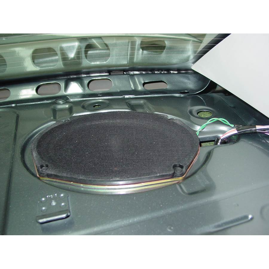 2009 Dodge Avenger Rear deck speaker