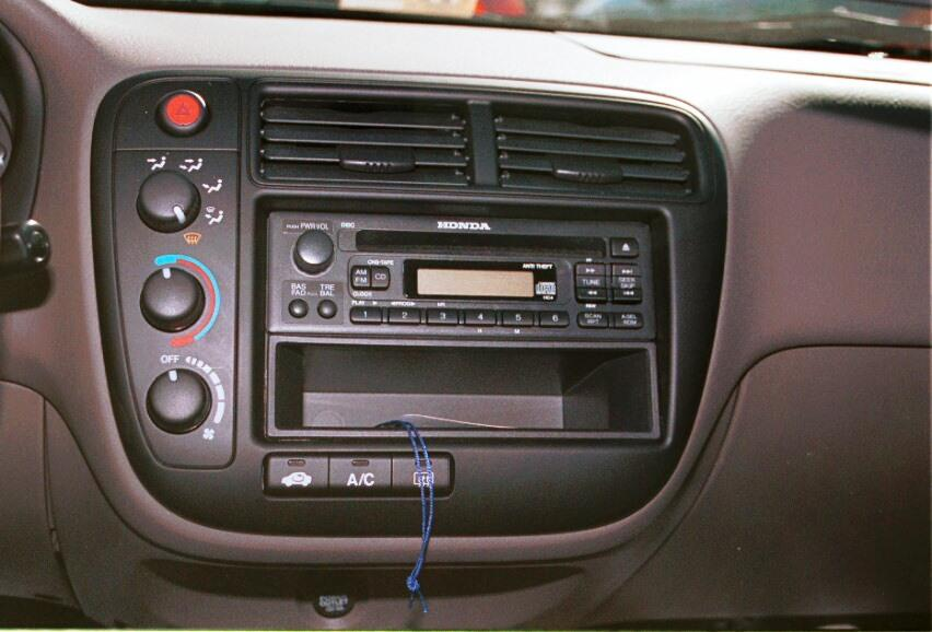 honda civic radio