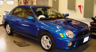 2002-2004 Subaru Impreza WRX sedan