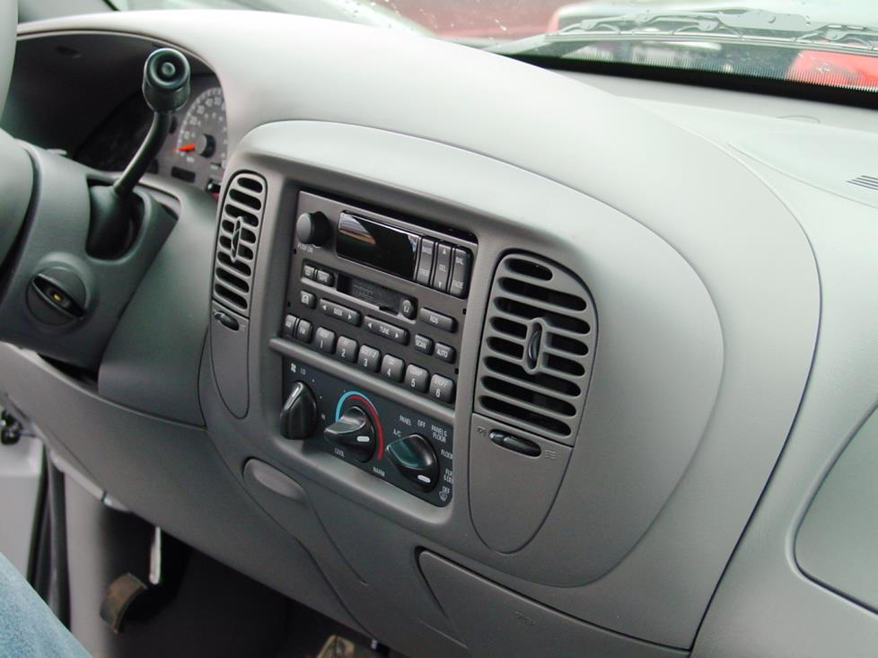 F Dash on Dodge Ram Dashboard Removal